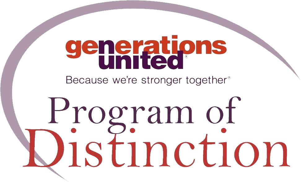 Graphic: Generations United Program of Distinction badge