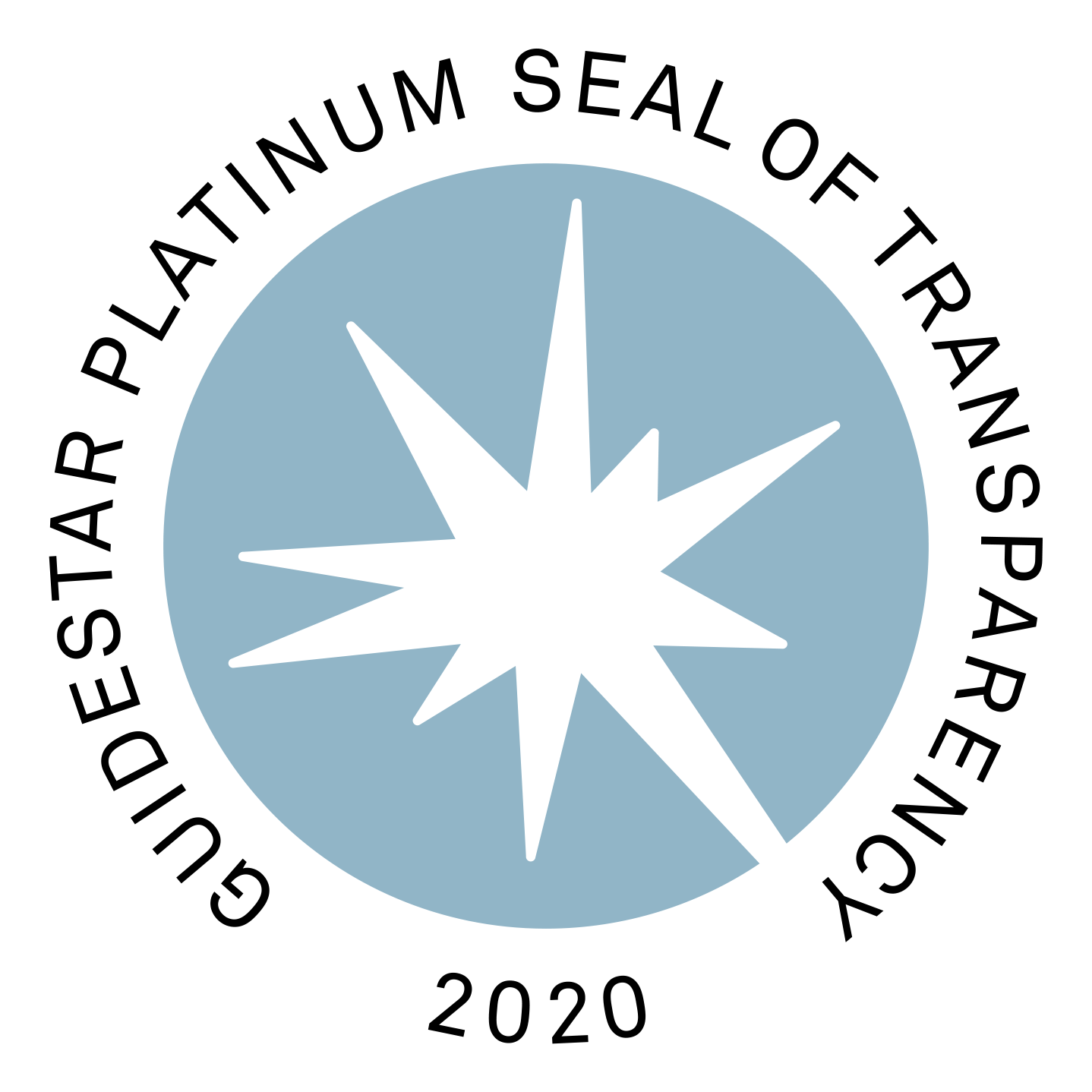 Graphic: GuideStar Platinum Seal of Transparency