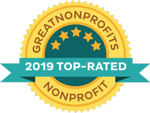 Great Non-Profits 2019 Top Rated Nonprofit Award Badge