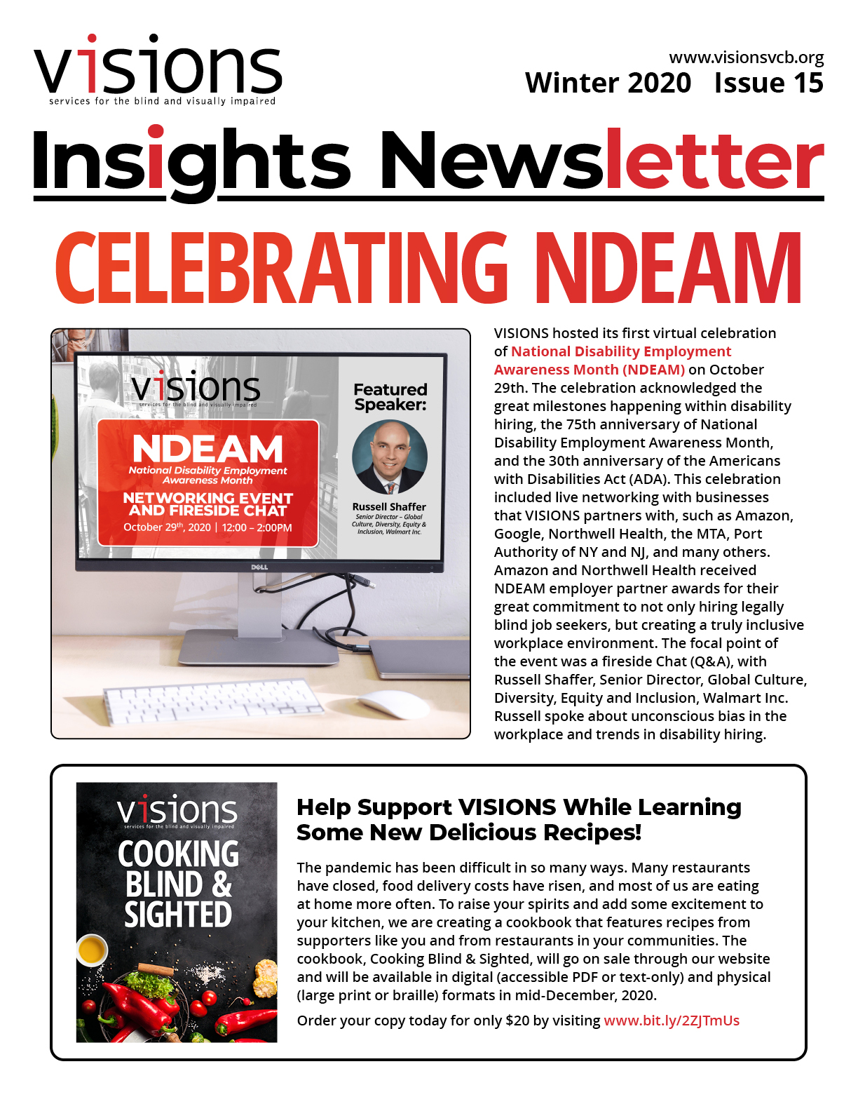 VISIONS Insights Newsletter, Winter 2020