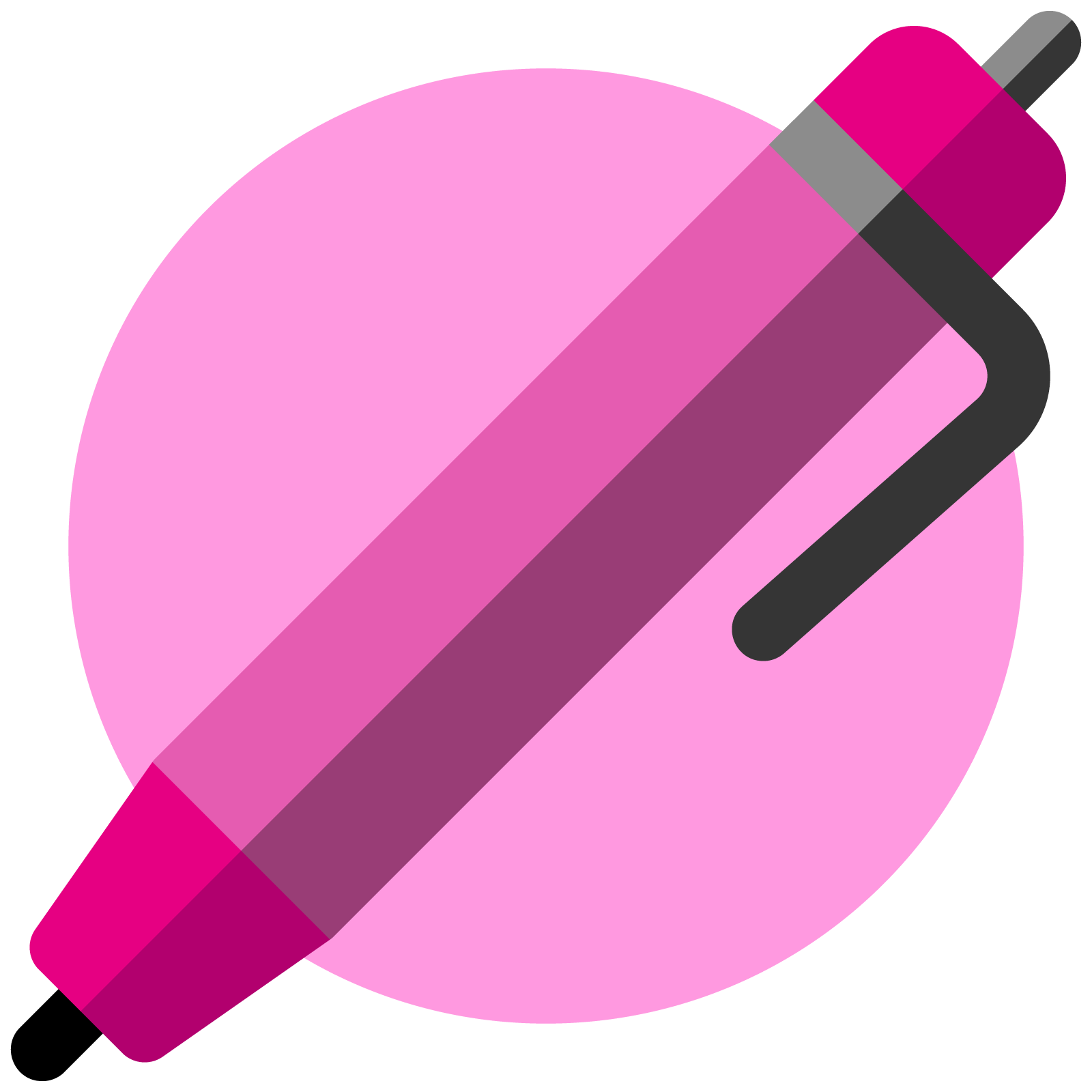 Icon of a pen