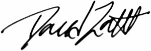 David Zarett Signature